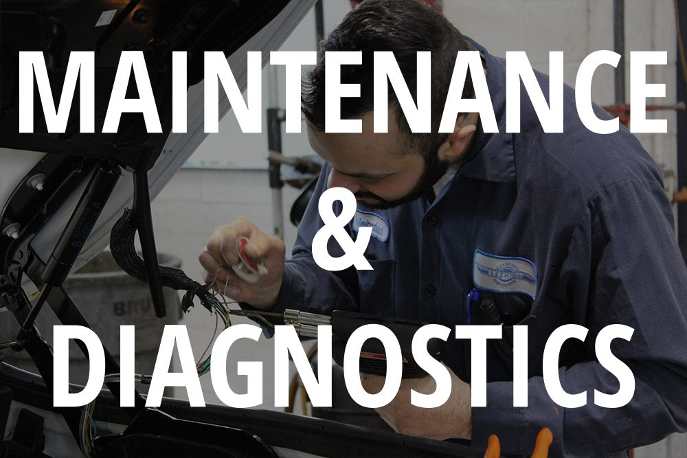 maintenance and diagnostics
